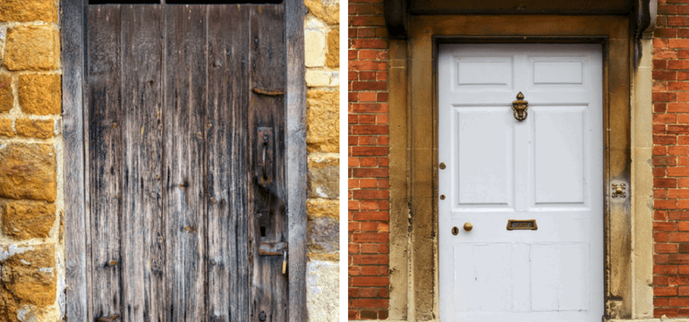 UPVC Door Timberdoor Comparison